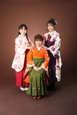 本八幡 市川市 卒業式 卒業袴 前撮り 姉妹 家族写真 記念写真