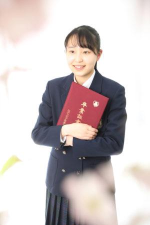 本八幡 市川市 卒業式 記念写真