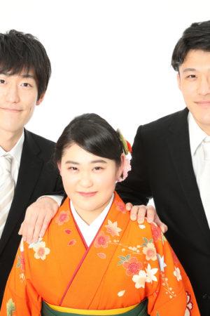 本八幡 市川市 卒業袴 家族写真 記念写真 兄妹写真 前撮り