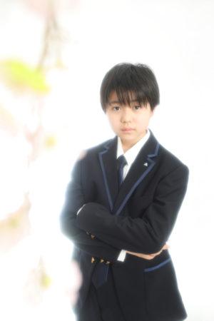 本八幡 市川市 入学写真 中学校 記念写真
