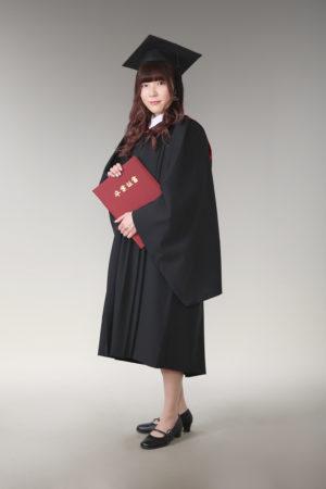 江戸川区 大学 卒業記念 アカデミックガウン 制服