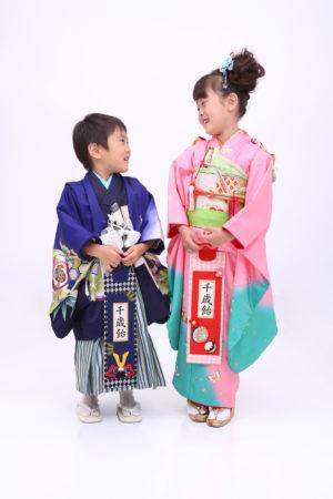 東京都 江戸川区 東京都 七五三 7歳・5歳 前撮り ご姉弟