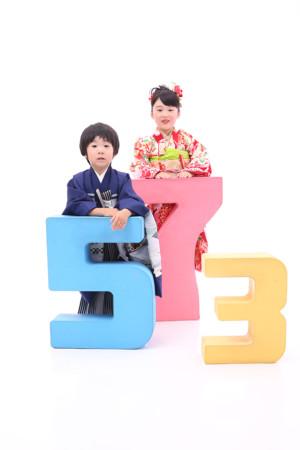 東京都 江戸川区 七五三前撮り 5歳・7歳 ご姉弟