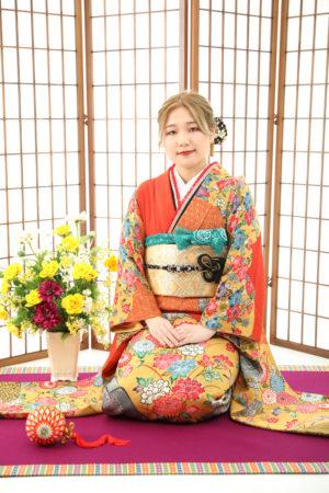 本八幡 市川市 成人式 振袖 二十歳 前撮り ママ振り アレンジ
