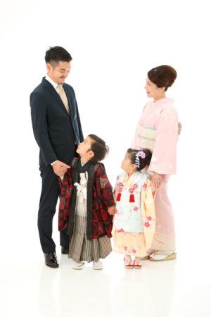 本八幡 市川市 七五三 5歳 五歳 3歳 三歳 兄妹 前撮り 家族写真 記念写真