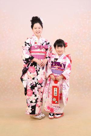 東京都 江戸川区 七五三 7歳前撮り 10歳参り ご姉妹