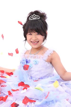 東京都 江戸川区 7歳前撮り ドレス撮影