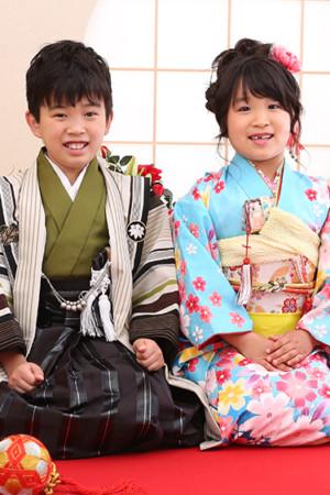 東京都 江戸川区 7歳前撮り ご兄妹撮影