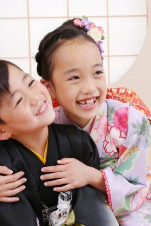 東京都 江戸川区 七五三 7歳・5歳前撮り ご姉弟