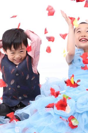東京都 江戸川区 七五三 7歳・5歳前撮り ドレス・タキシード