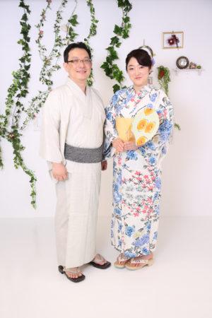 東京都 江戸川区 浴衣撮影 記念撮影