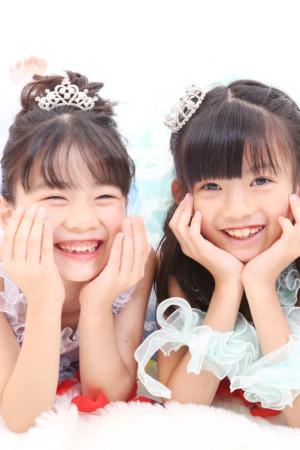東京都 江戸川区 七五三 7歳 前撮り ドレス ご姉妹